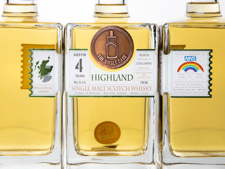 Review #108: The Single Cask Inchfad 2016 4 Years Old (NHS Special Release)