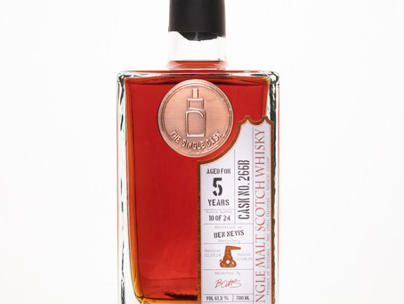 Review #86: The Single Cask Ben Nevis 2014 5 Years Old PX Finish