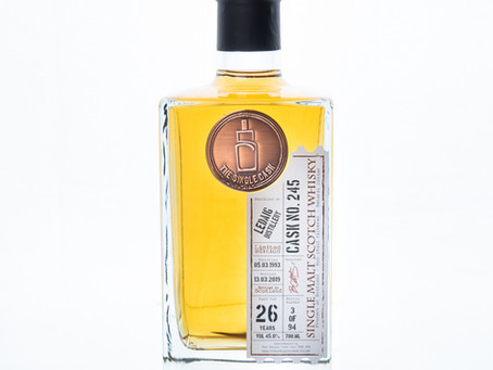 Review #80: The Single Cask Ledaig 1993 26 Years Old #245