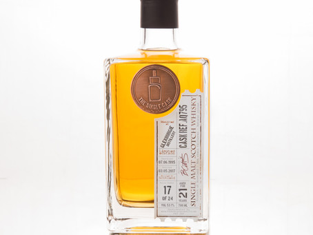 Review #22: The Single Cask Glenburgie 1995 21 Years Old