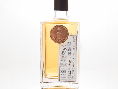 Review #27: The Single Cask Tomintoul 1995 22 Years Old