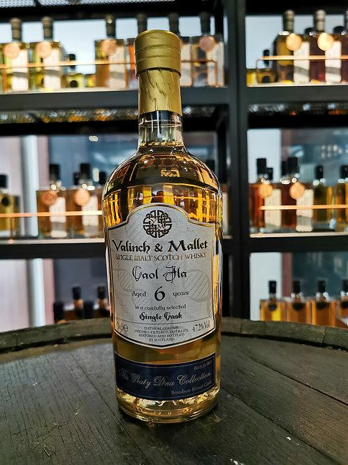 Caol Ila 6 Years Old Koval Bourbon (Valinch & Mallet)