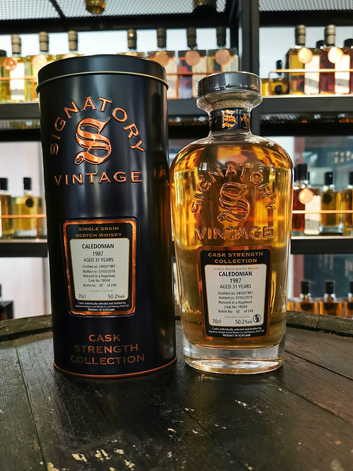Caledonian 1987 31 Years Old (Signatory Vintage Cask Strength)