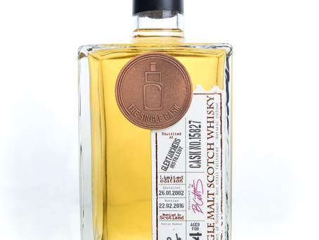 Review #7: The Single Cask Glentauchers 2002 14 Years Old