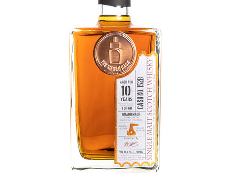 Review #111: The Single Cask Ruadh Maor 2009 10 Years Old PX Finish