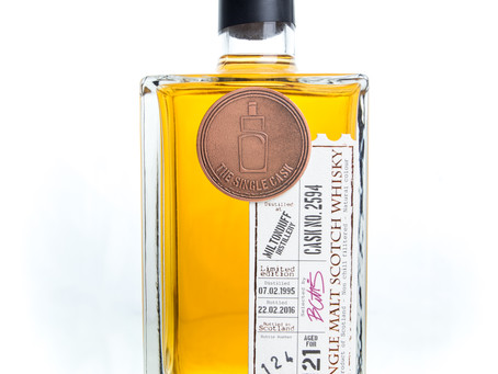 Review #9: The Single Cask Miltonduff 1995 21 Years Old