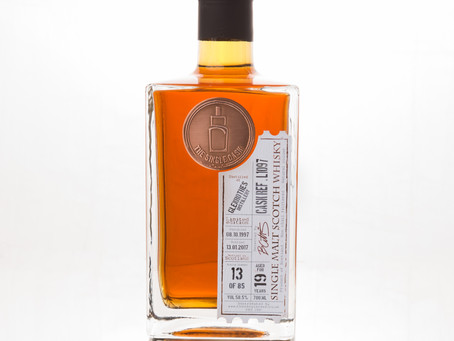 Review #23: The Single Cask Glenrothes 1997 19 Years Old #L1097