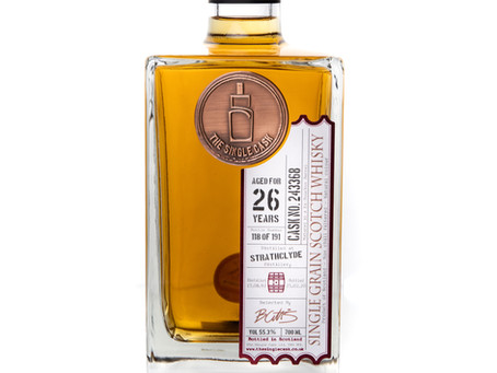 Review #112: The Single Cask Strathclyde 1993 26 Years Old