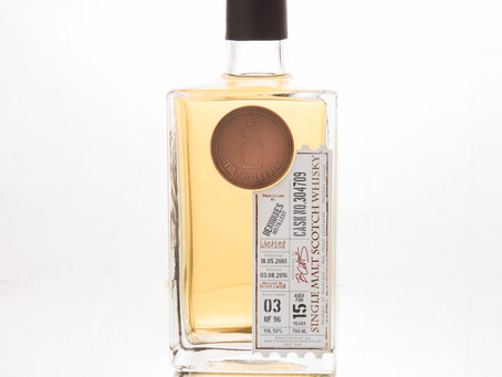 Review #14: The Single Cask Benrinnes 2001 15 Years Old