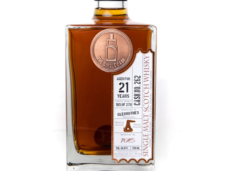 Review #107: The Single Cask Glenrothes 1997 21 Years Old