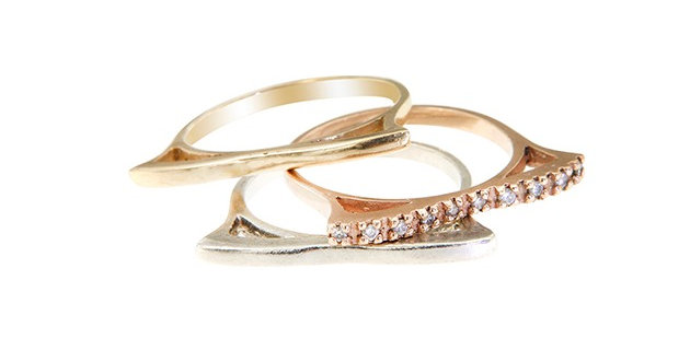 Art Deco Ring ( plain)