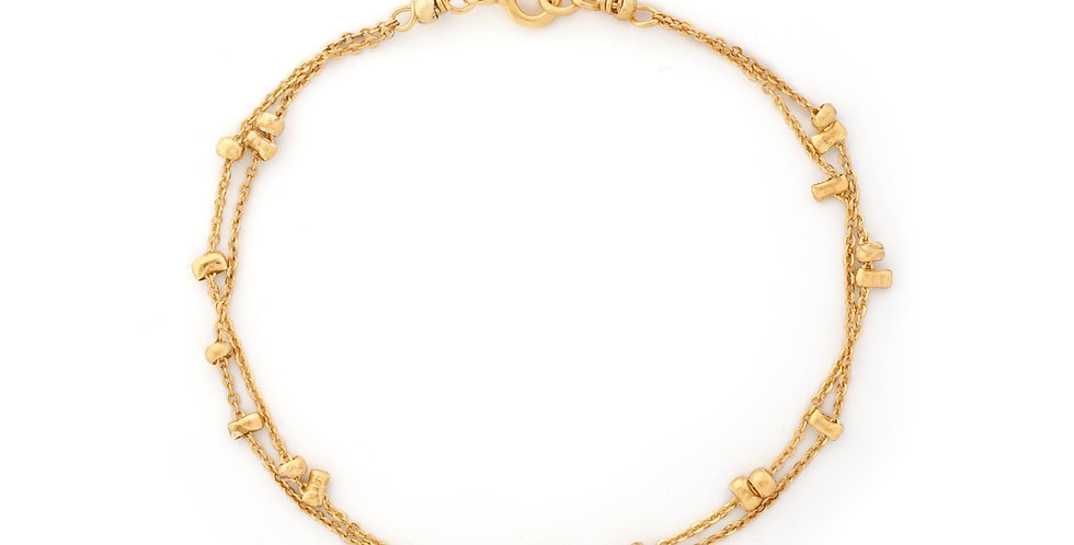 Pepitas Double Bracelet