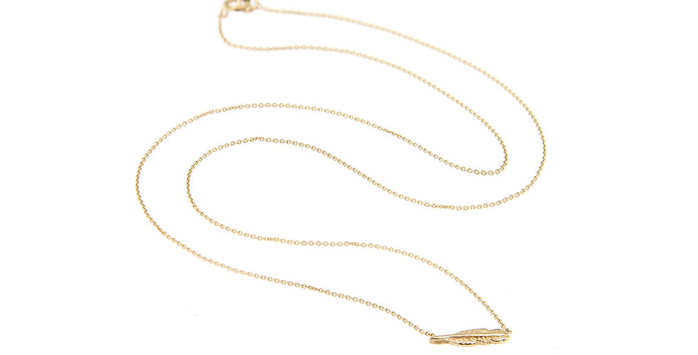 Mini Feather Necklace