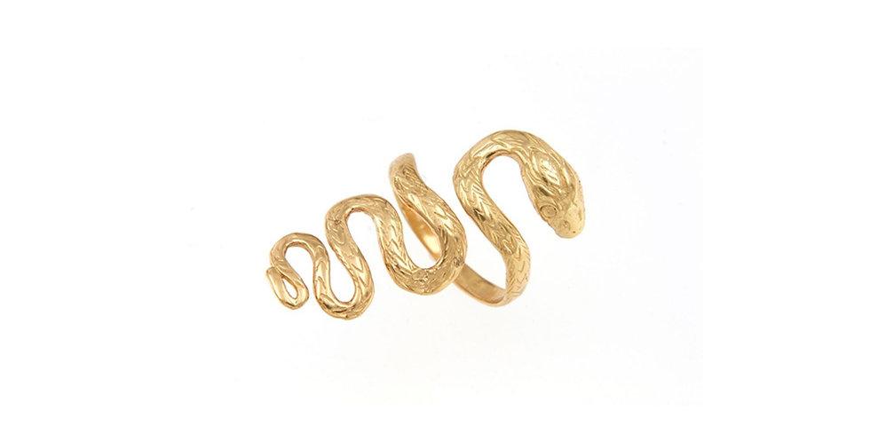 Half Finger Snake Ring