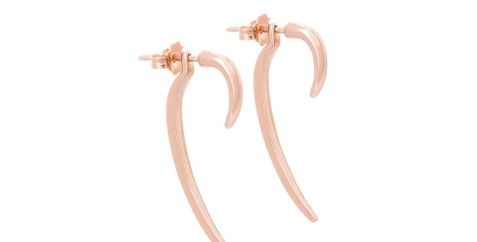 Claw Earring Double