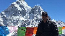 Difficult to sleep last night because of the elevation. (EVEREST)