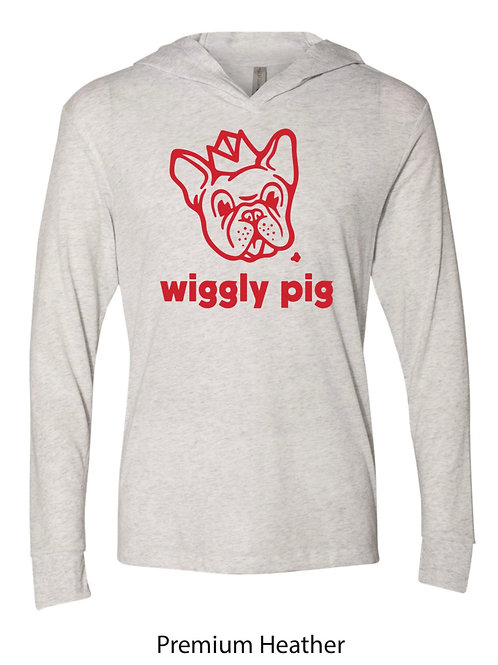 Wiggly Pig Long Sleeve with Hood