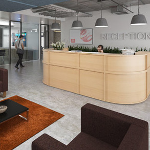 denver modular reception desks
