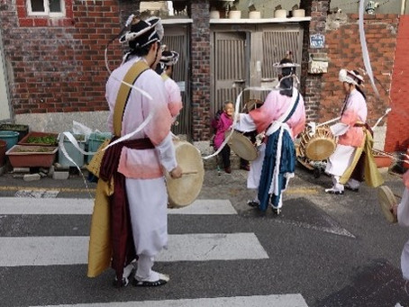 지역주민과 함께하는 지신밟기 행사