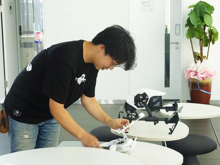 영상고등학교, DRB 드론촬영 협력