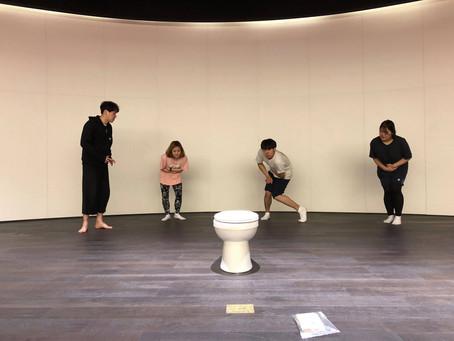 동아시아 연극캠프 공연연습과 꿈다락 어린이 농악단 풍물연습