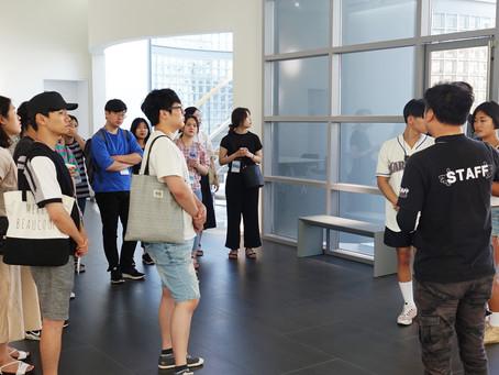 부산문화재단의 '부산청년기획단' 캠퍼스 디 방문