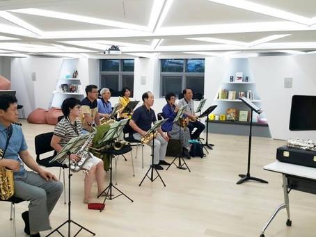 색소폰하모니 오케스트라 초급반 수업