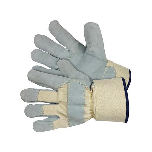 Cut Resistant - Grey Split Leather 25-4900
