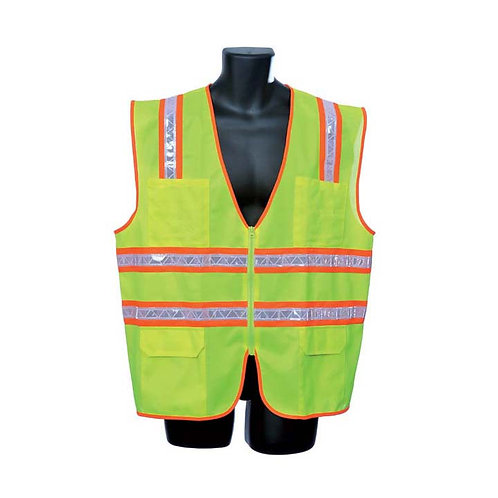 Lime Green Surveryor's Vest 98-5901-G