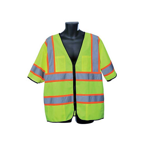 Class III Lime Tricot Vest 98-3801-G