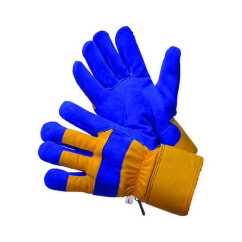 Thermo Lined Split Cowhide Gloves 30-5800P-YBU