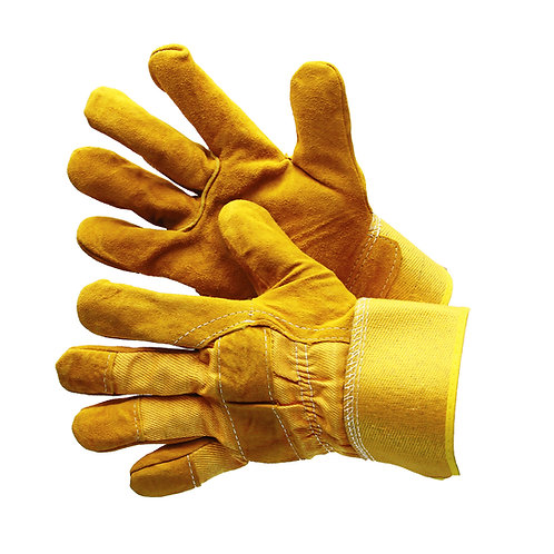 Premium Golden Yellow Leather Single Palm 30-3111SP