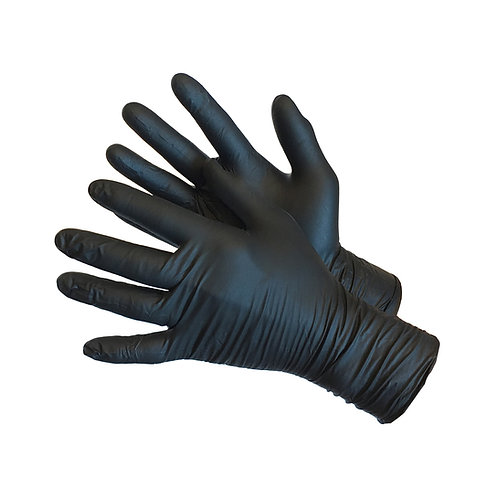 "12"" Black Powder Free Medical Nitrile 43-60MN-BK-12"