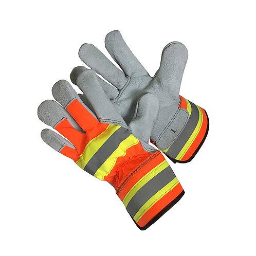 HI VIZ Leather Palm 30-5810HVO
