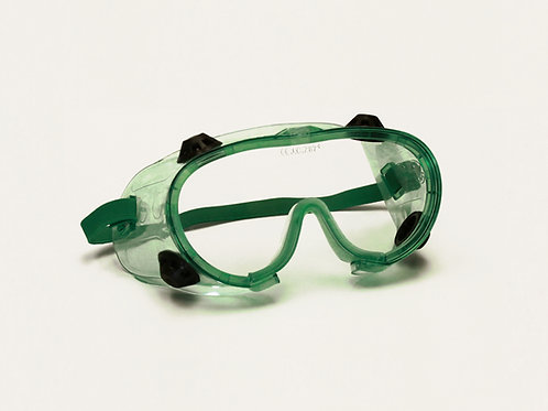 Green Safety Goggle 99-G8901GN-CAF