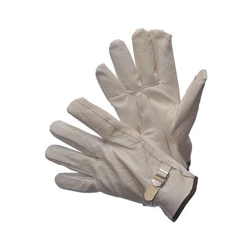 Goat Skin Driver Gloves with Adjustable Strap 32-1394