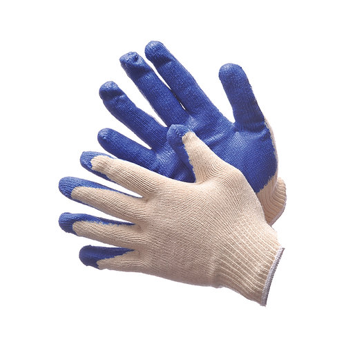 Economical String Knit with Blue Latex Coated Palm 50-3600C
