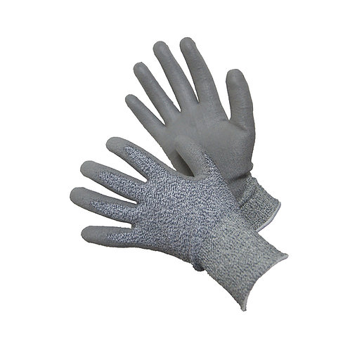 Cut 5 H-Power Shell with PU Palm Coated Gloves 20-5538G
