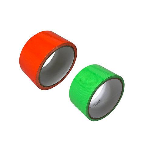 Hi Viz Duct Tape 99-T009HV  Green and Orange