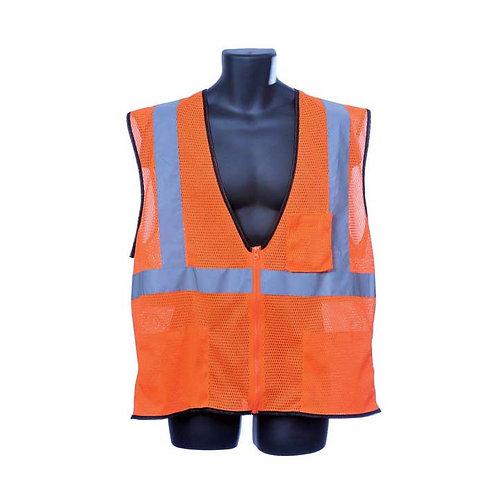 Class II Orange Mesh Vest 98-2800-O