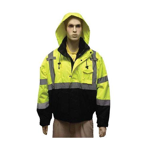 Class III Fluorescent Lime Green Water Resistant Jacket 98-3011G