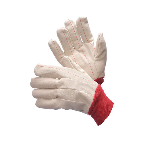 Double Palm Canvas Red Wrist 60-1990R