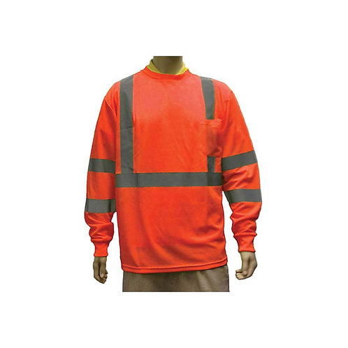 Class III Orange Long Sleeves T-Shirts 98-3500-O
