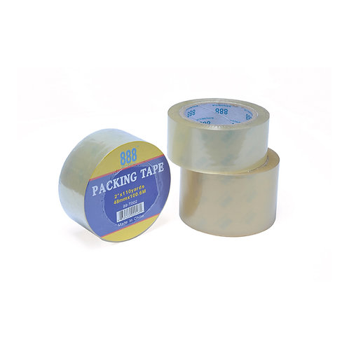888 Clear Packing Tape 99-T000