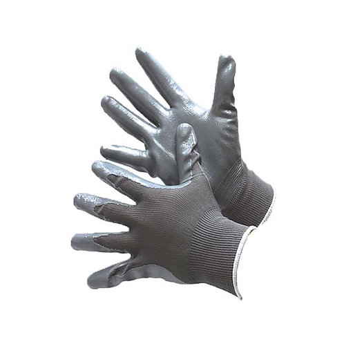 Grey Polyester Shell with Grey Nitrile Coating 50-8839PG