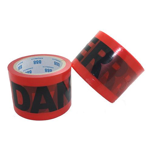 """Danger Tape 3""""x 300FT 99-T0811D-2"""