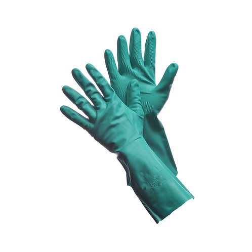 "11 Mil 13"" Unlined Green Nitrile 41-0057UN"