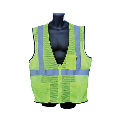 Class II Lime Mesh Vest 98-2801-G