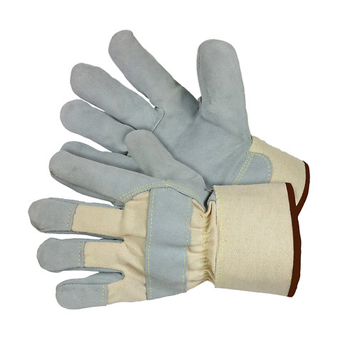 Cow Split Leather Palm with Knuckle Strap 30-2500