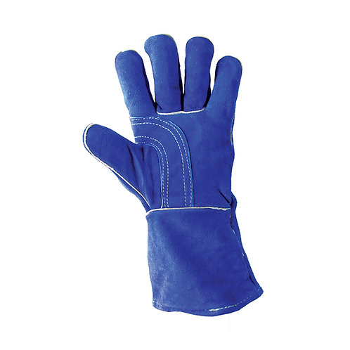Blue Leather Welding Left Hand 31-4014LH